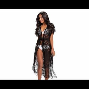 Other - Very sexy beach coverup. Black soft lace M/L